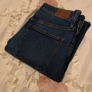 Madewell Cruiser Straight Blue Jeans Size 30